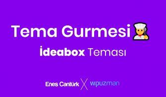İdeabox WordPress Theme – Tema Gurmesi