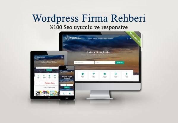 WordPress Firma Rehberi Teması