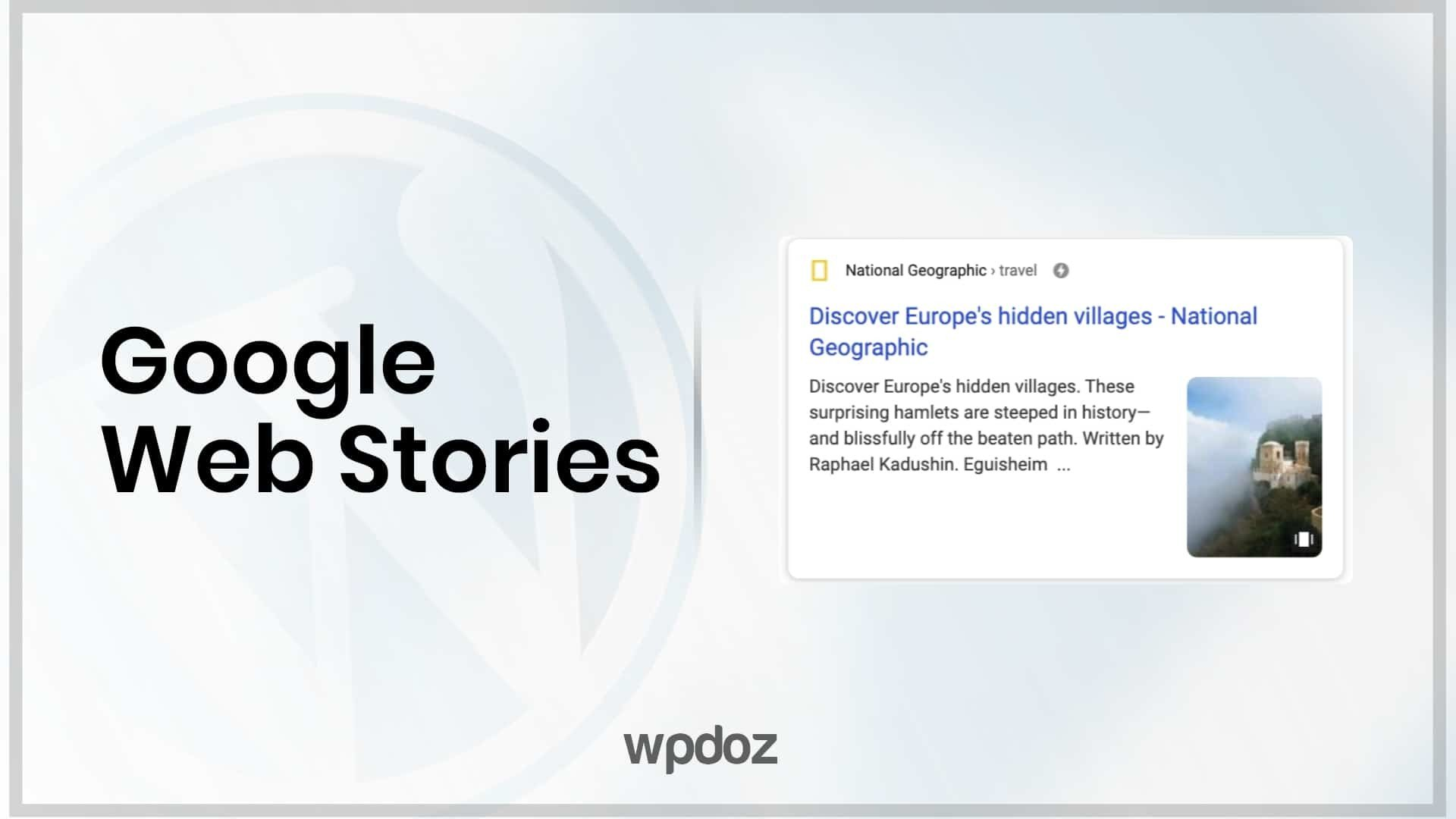Google Web Stories Nedir? Nasıl Kullanılır? [Resimli Anlatım]