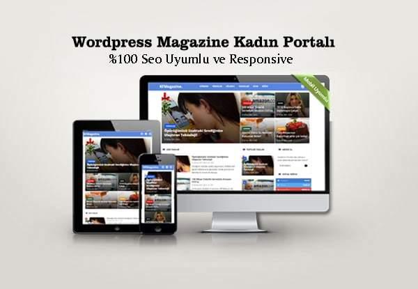 Wordpress Magazin kadin portali temasi 1 1