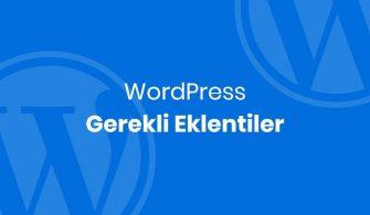 wordpress-gerekli-eklentiler