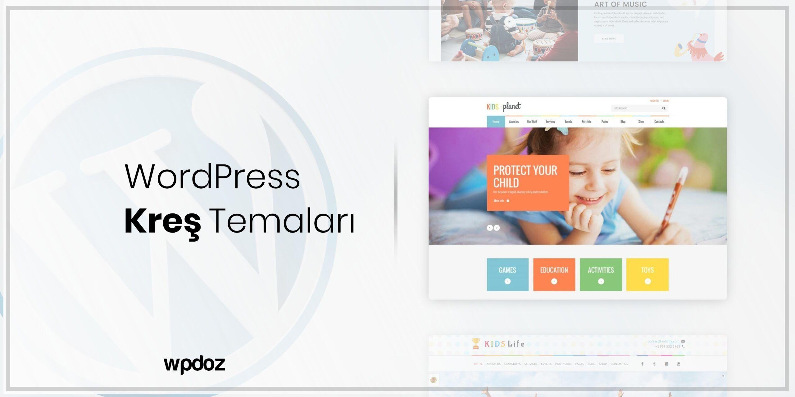 WordPress Anaokulu ve Kreş Temaları