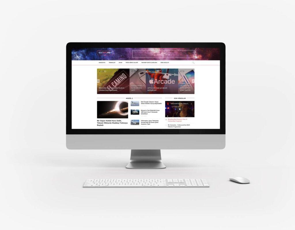 WordPress portal teması Eccepure