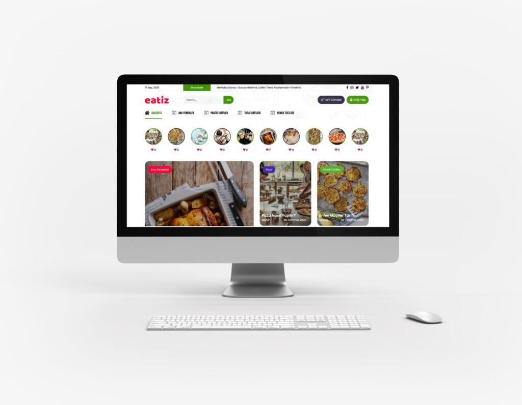 WordPress yemek teması Juzk Food
