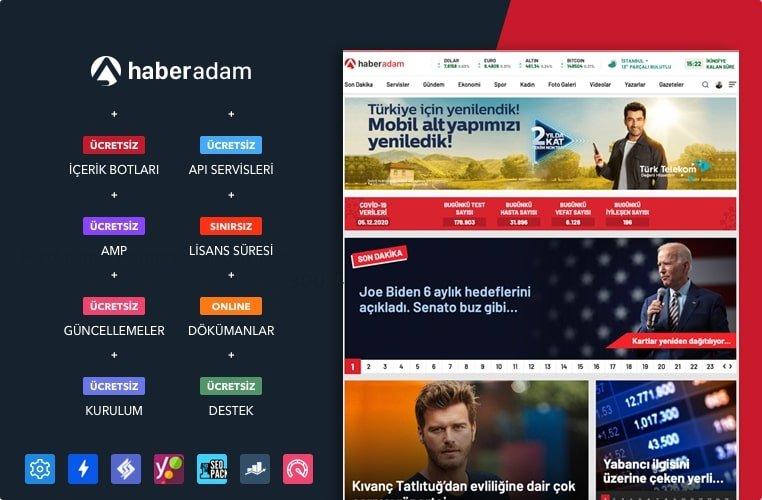 WordPress Haber Teması – HaberAdam