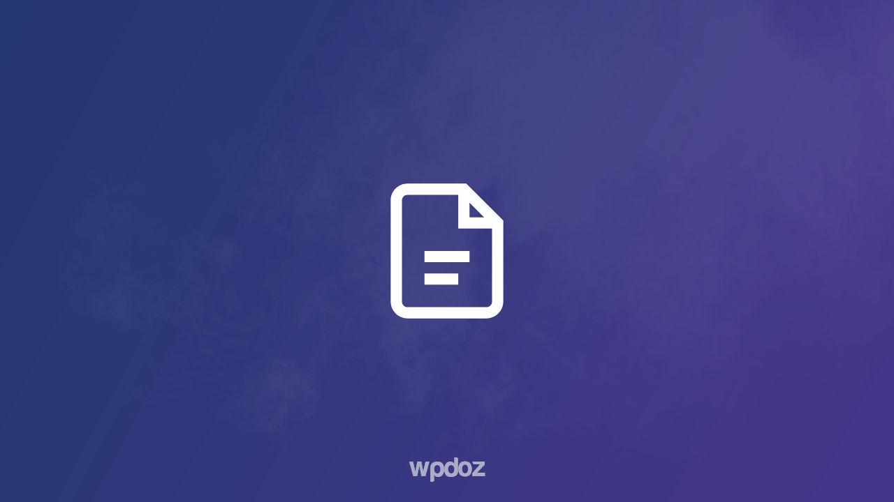WordPress Klasik Editöre Geçiş Yapma (Eklentisiz)
