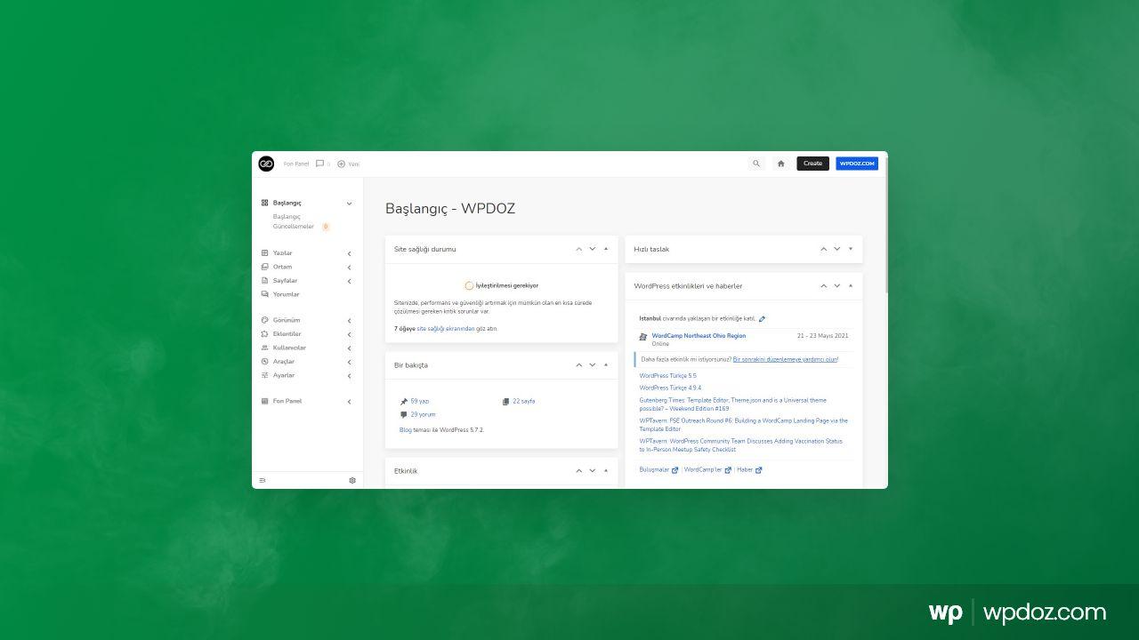 WordPress Admin Paneli Teması – Admin 2020 Pro İnceleme