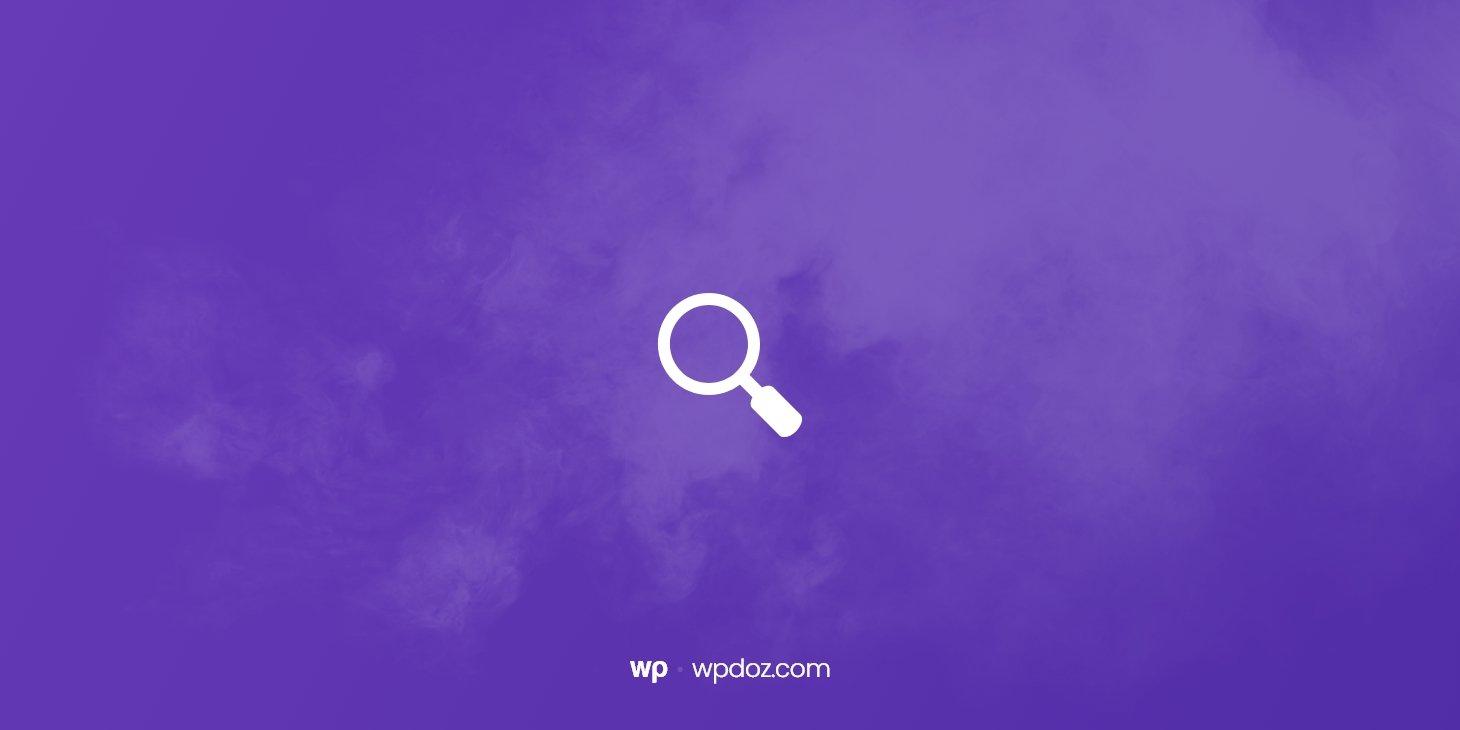 WordPress Arama Özelliğini Kapatma