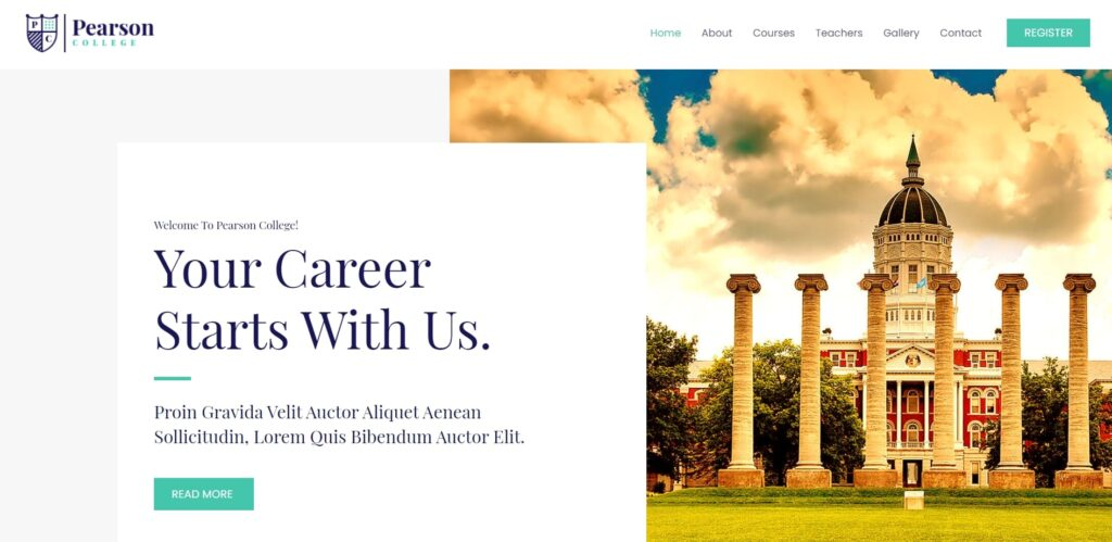 WordPress eğitim teması astra