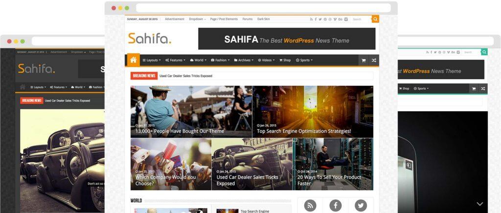 WordPress Blog Teması Sahifa