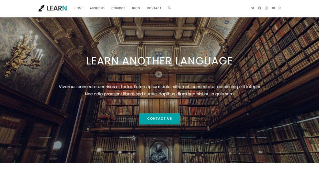 WordPress eğitim teması OceanWP